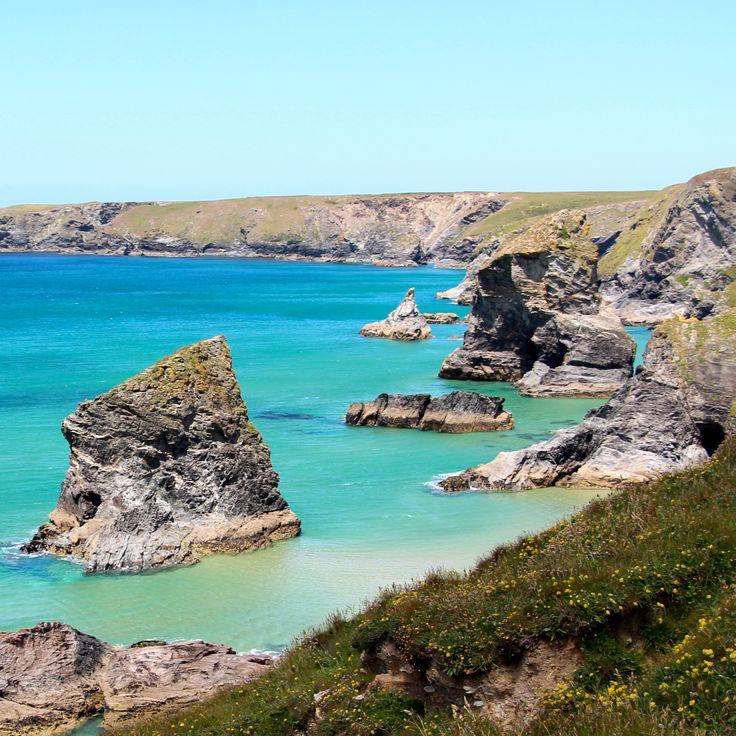 #Carenewas and #Bedruthan #Steps #UK #Cornwall #Travel #Beautiful #Nature #Holiday