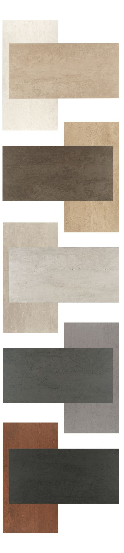 Theoretical field tile is offered in Whimsical White, Ideal Beige, True Beige, Absolute Brown, Fundamental Gray, Logical Gray, Creative Gray, Imaginative Gray, Deep Copper, and Abstract Black.   Field tile is available in 24 x 24, 12 x 24, and 6 x 24.