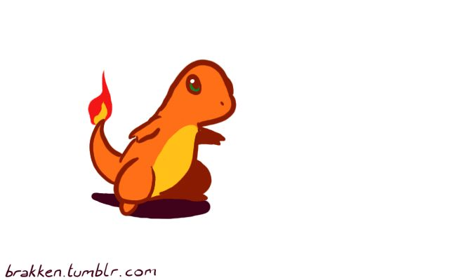An entire evolution line, captured in a single animation. Awesome. And yes, there's more than just this Charizard GIF.