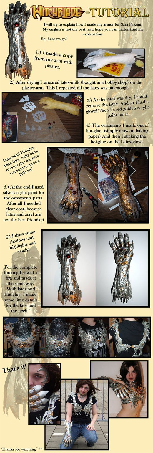Tutorial: The Witchblade by ~Sleepsong - Because I loved watching that show....I even downloaded it l0l