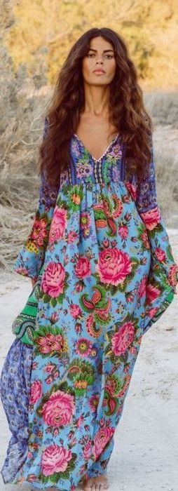 Fabulous kaftan. - The latest in Bohemian Fashion! These literally go viral! 1