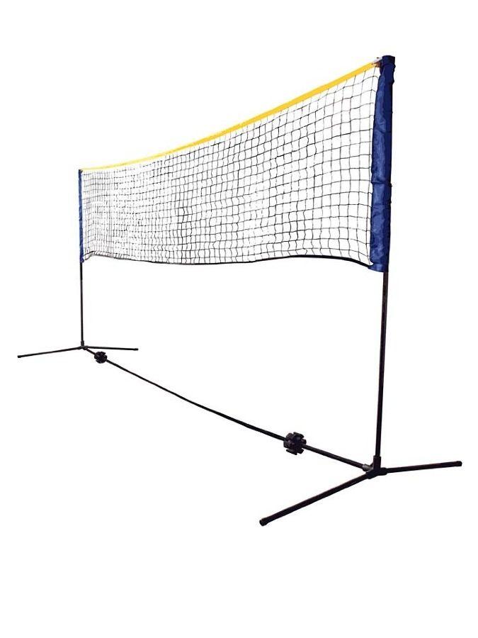 składana siatka do gry w siatkówkę - nie potrzebuje mocowania w podłożu 157 PLN  #sale #limango #sport #family #summer #volleyball