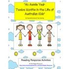 """""""An Aussie Year: Twelve Months in the Life of Australian Kids"""" by Tania McCartney & Tina Snerling (2013) - a terrific picture book for exploring the Australian lifestyle."""