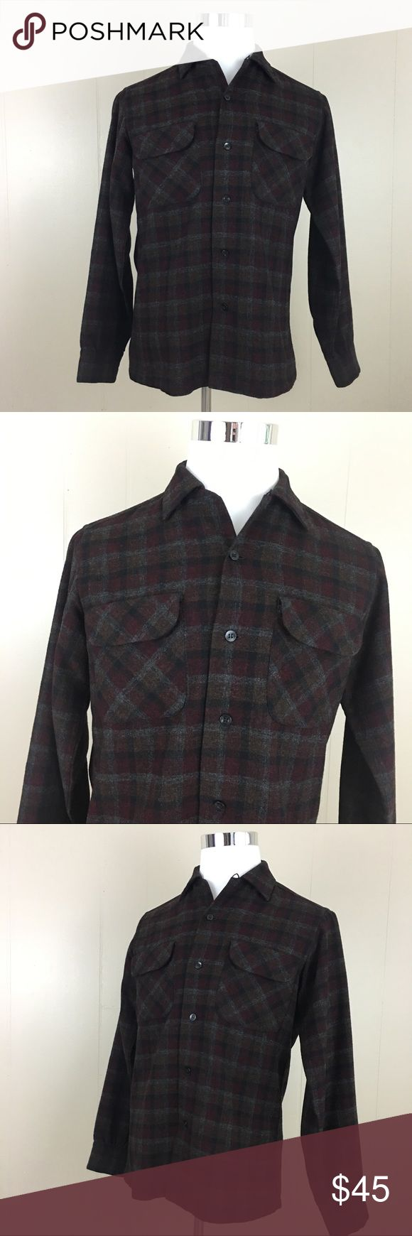 Pendleton Flannel 100% Virgin Wool Men's Shirt Brand: Pendleton  Condition: This item is in Good Pre-Owned Condition! There are NO Major Flaws with this item, and is free and clear of any Noticeable Stains, Rips, Tears or Pulls of fabric. Overall This Piece Looks Great and you will love it at a fraction of the price!  Material: 100% Virgin Wool Size: Small 💥Top Rated Seller 💥Top 10% Seller 💥Top 10% Sharer 💥Posh Mentor 💥Super Fast Shipping Pendleton Shirts Casual Button Down Shirts