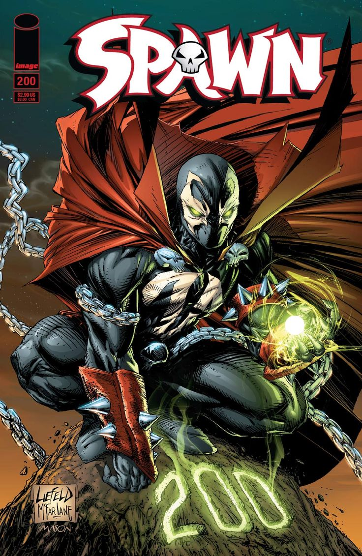 Exclusive: Spawn #200 Rob Liefeld Cover PLUS Todd McFarlane ...