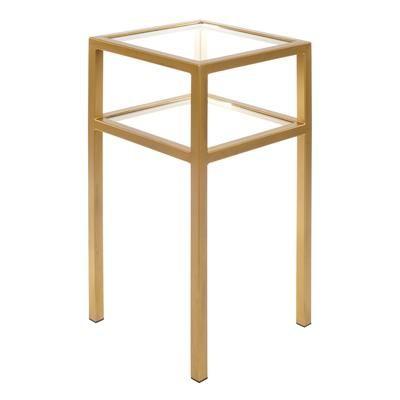 Cromer Bedside Table in Old Gold