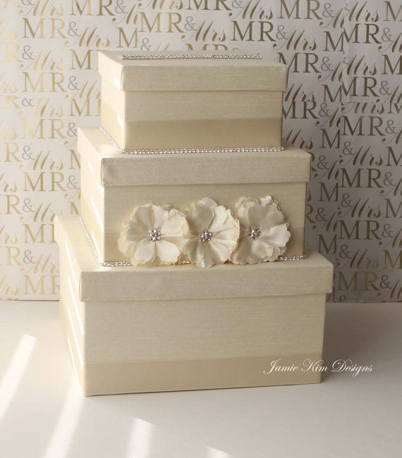 Wedding Card Box Money Holder- Custom Made to Order
