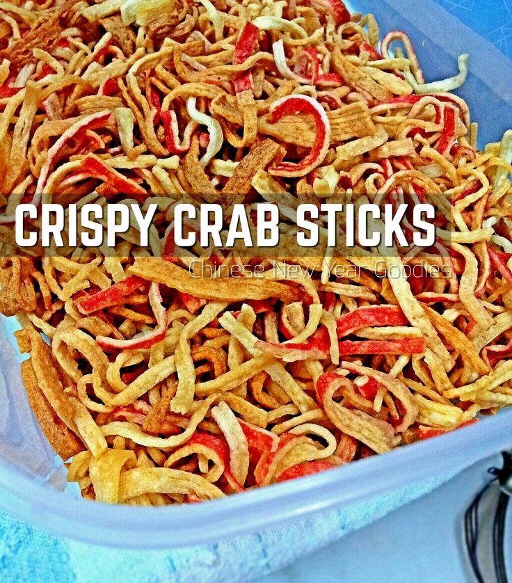 CRISPY CRAB STICKS (Filament Crab Sticks Snacks)