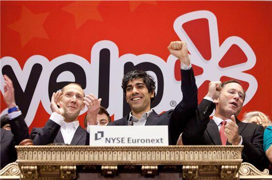 Yelp regains IPO Price