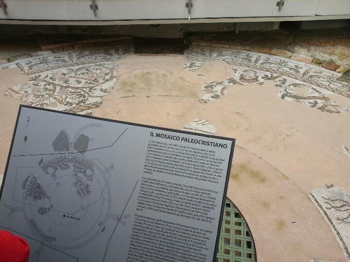 Mosaico Paleocristiano-Treviso: Architecture, Mosaico Paleocristiano Treviso, Design
