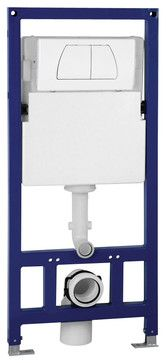EAGO PSF332 Concealed Dual Flush In Wall Tank Carrier for Wall Mounted Toilets modern-bidet-and-toilet-parts