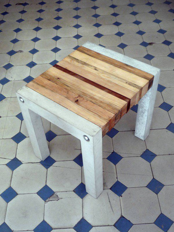 Essence Bench Upcycled Furniture Wood & Organic
