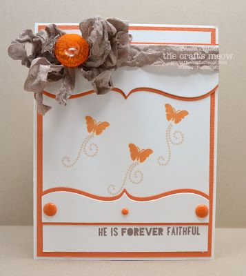 The Craft's Meow Store Blog: Forever Faithful        also used Choose Hope