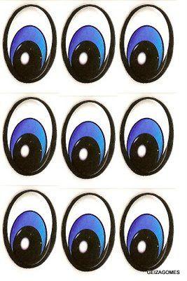 ojos para imprimir - Buscar con Google