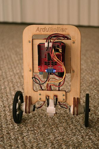 ArduRoller out for a spin #Arduino