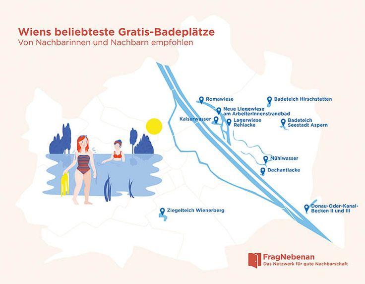 Geheimtipps: 10 x gratis Baden in Wien - FragNebenan