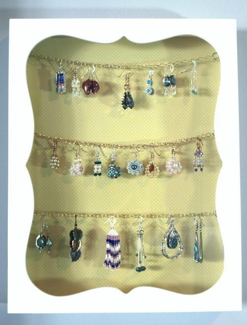 125 best DIY Jewelry Organizers images on Pinterest Jewelry
