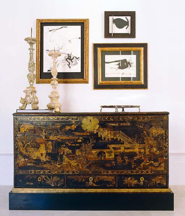 Home of interior designer luis puerta nuevo estilo for Muebles antiguos chinos