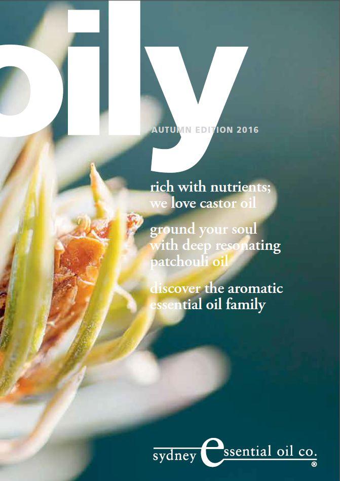 Autumn 2016 | Oily Magazine | Patchouli oil | Castor Oil Download your copy now http://www.seoc.com.au/downloads/Oily-News-Autumn-2016.pdf