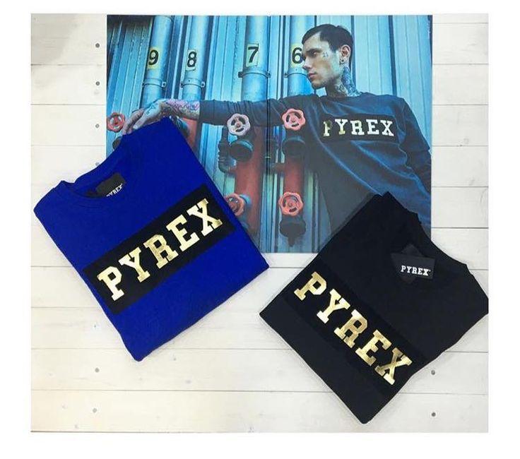 PYREX SWEATSHIRT #new #collection #fallwinter16 #pyrex #pyrexoriginal #winterstyle #sweatshirt #nothingbetter #pyrexoriginal #gold #streetstyle #mylifeispyrex