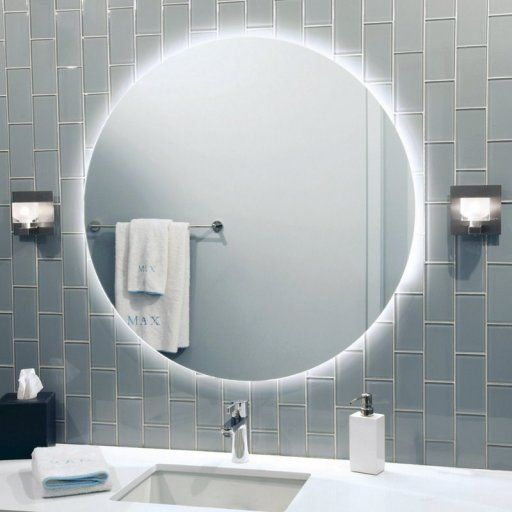 Led Back Lit Mirror By Stone Lighting