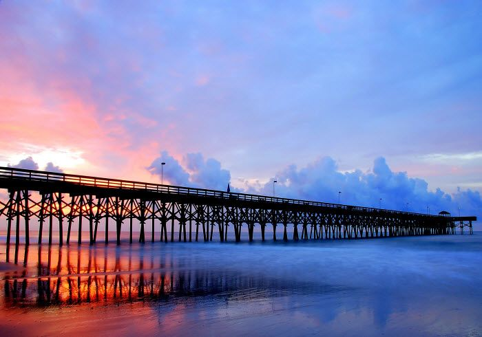 105 best myrtle beach piers images on pinterest for North myrtle beach fishing pier