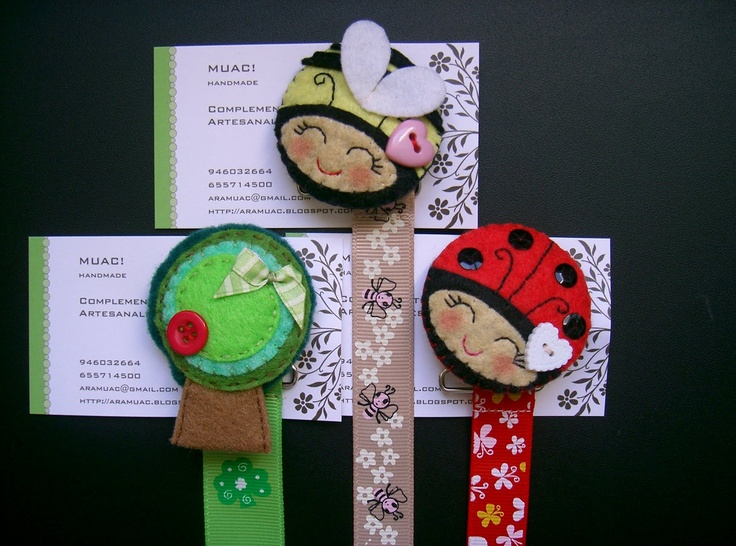 love!-These would be so cute with my jumbo clothespins and Sass felties!