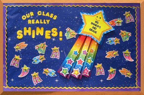 star bulletin boards | Shooting Star Bulletin Board