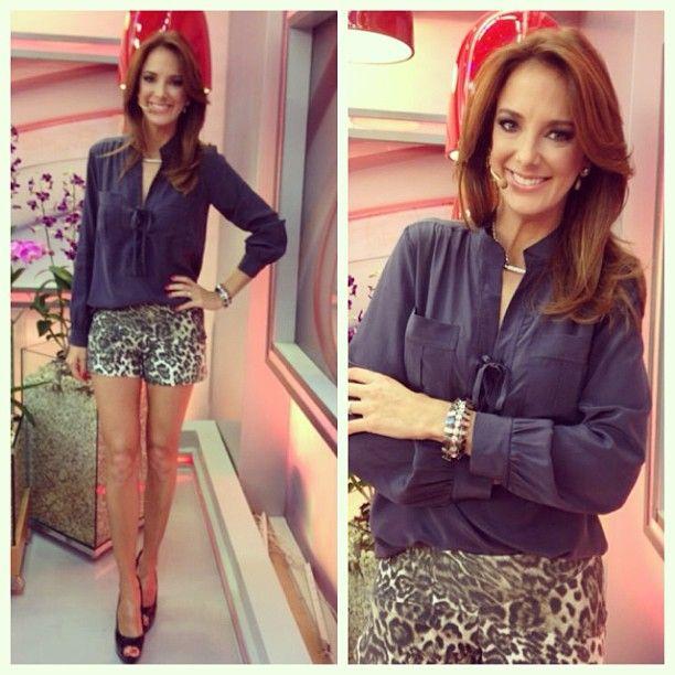 .@nbbatista   Tici Pinheiro linda de camisa @Ateen Khakpour Loja shorts @armazemoficial pulseira @_3a...   Webstagram - the best Instagram viewer