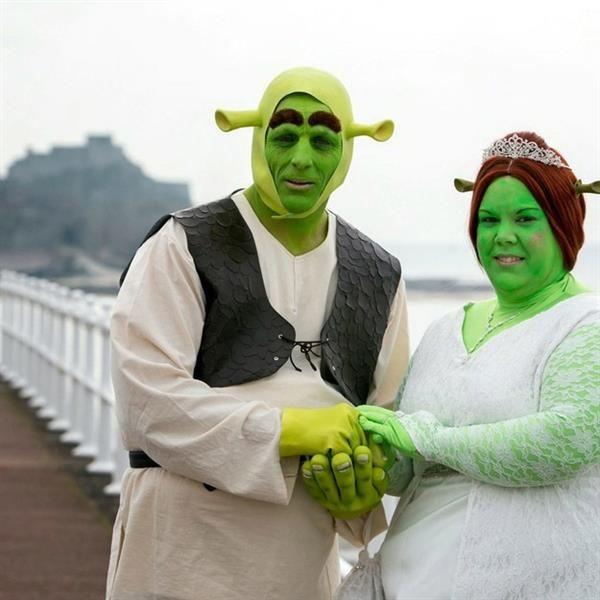 Смешной костюм на свадьбу