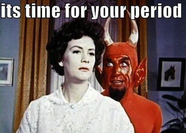 Test: How Metal Is Your Period? Being a woman is hardcore. Period.