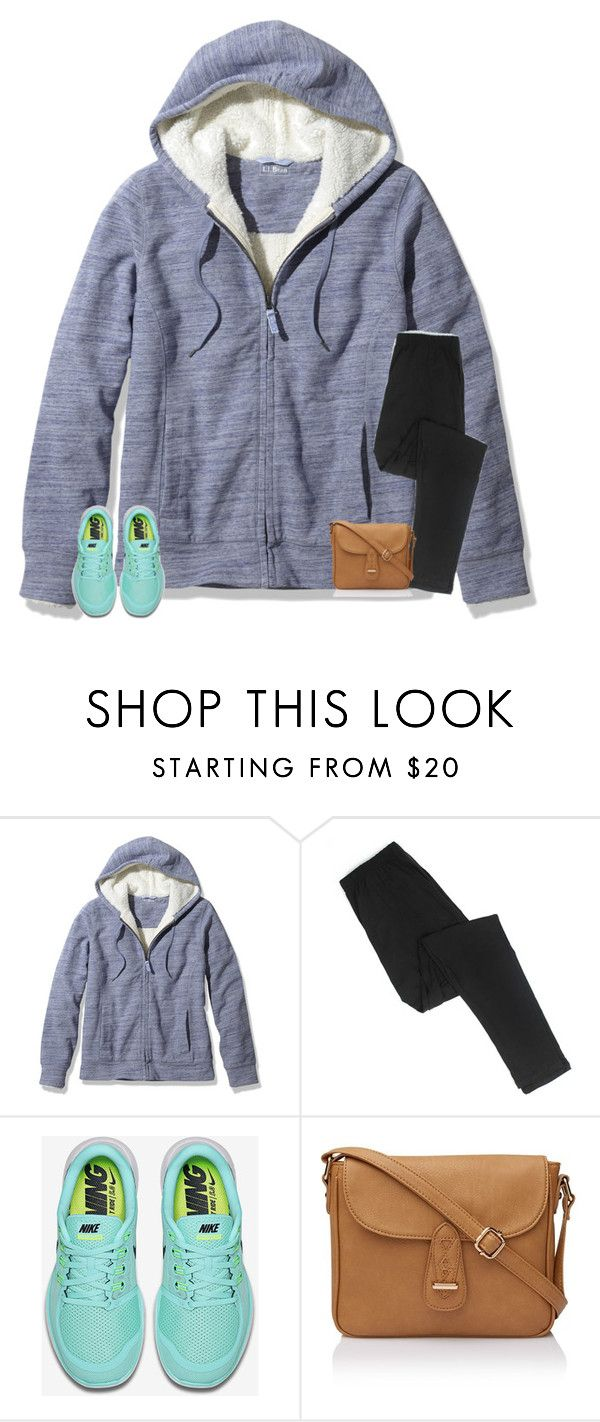 """what should I wear today??"" by secfashion13 ❤ liked on Polyvore featuring L.L.Bean and NIKE"