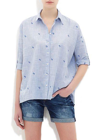 Mavi Gömlek | Kadın | Mavi