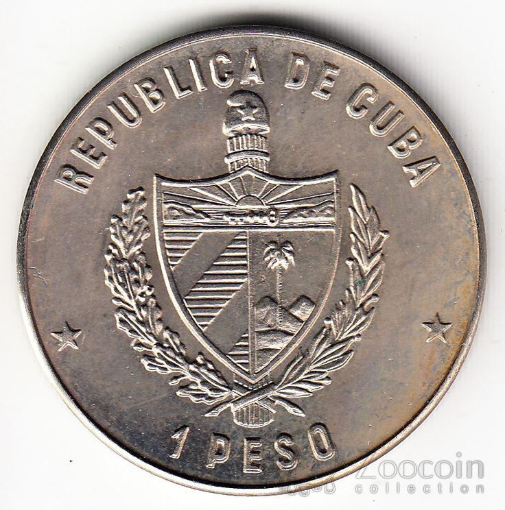 Куба 1 песо 1982 Эрнест Хемингуэй - Старик и море