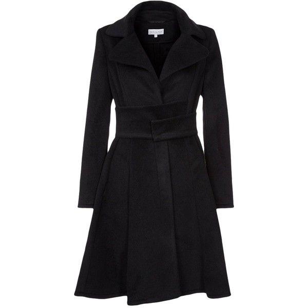 Patrizia Pepe Classic coat found on Polyvore