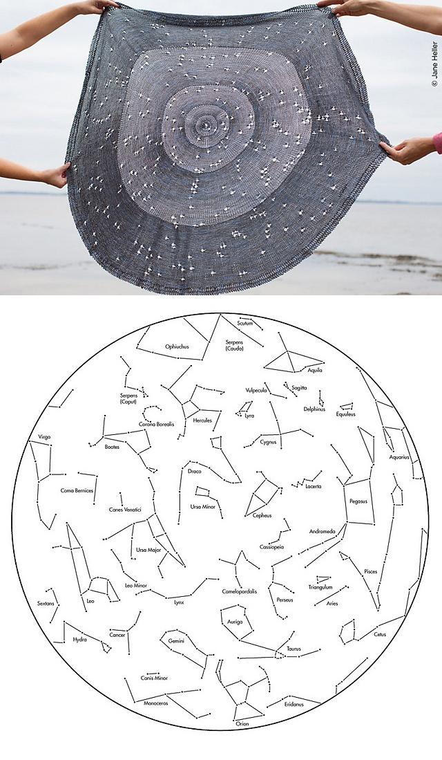 Celestarium Shawl - stunning pattern!!  $7