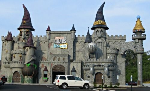 Pigeon Forge Attractions Castle. Located behind the Hollywood Wax Museum. This attraction is so much fun and your kids will love! #pigeonforge