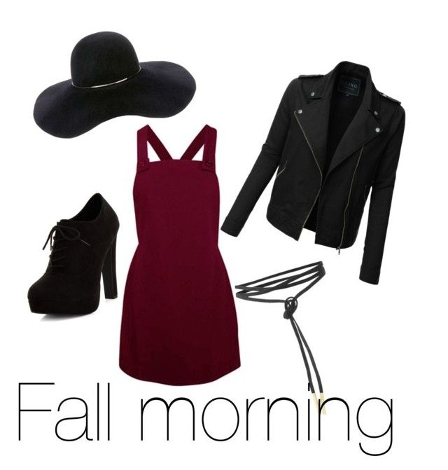 Fall morning by chrysapan on Polyvore featuring polyvore мода style LE3NO New Look Eugenia Kim fashion clothing