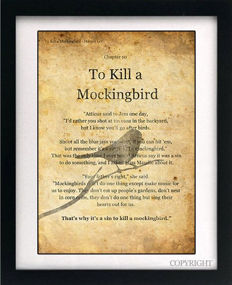 Literary Devices In To Kill A Mockingbird