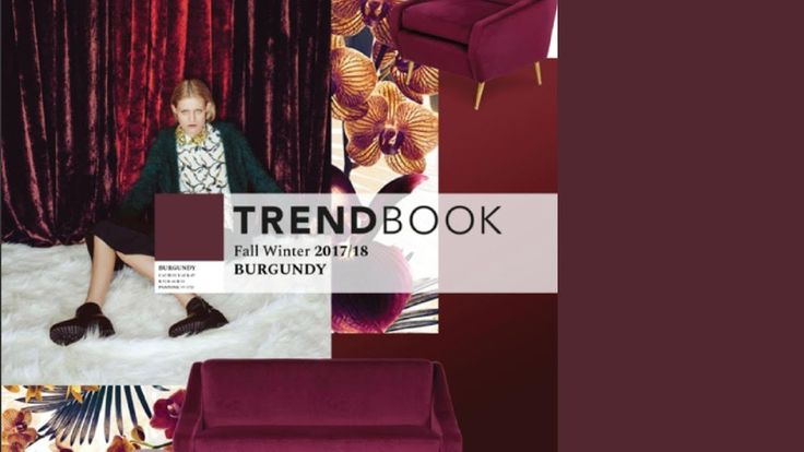 Trend Book Video: Color Trends 2018 Burgundy