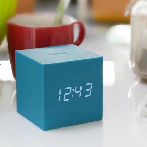 Nuovi arrivi - Orologio Sveglia Gravity Cube - È la gravità a svegliarti!