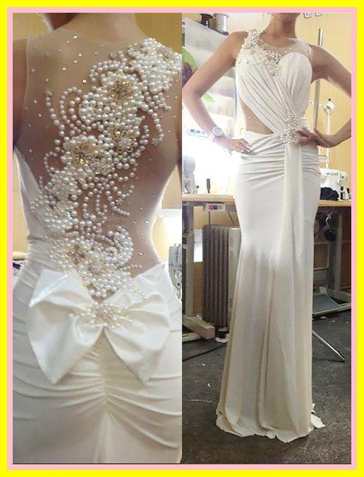 Sale Trumpet Mermaid Sleeveless Wedding Dresses Scoop Chiffon Pearl Sweep Brush Train Bridal Dres In 2020 Bridal Gowns Mermaid Wedding Dresses Ebay Cheap Wedding Dress