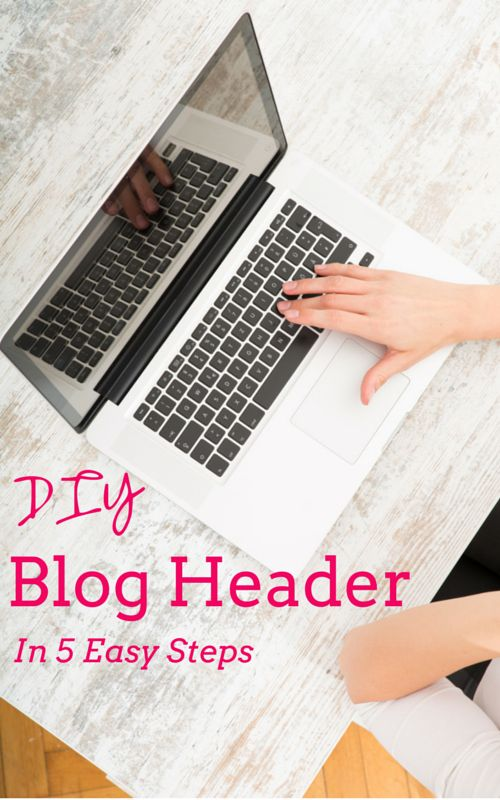 Personalize your website with this easy DIY blog header tutorial.