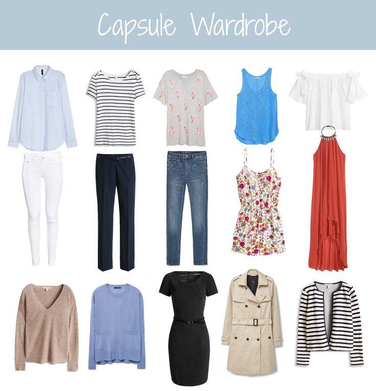 Cute  Capsule Wardrobe Wie man mit wenigen Teilen im Schrank IMMER gut angezogen ist