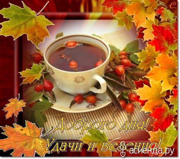 открытки с пожеланиями доброго осеннего утра приготовить