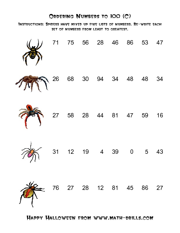12 best Grade 2 and 3 Halloween sheets images on Pinterest ...
