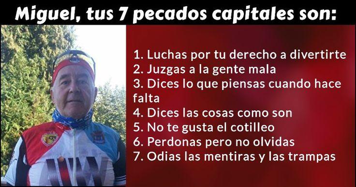 ¿Cuáles son tus 7 pecados capitales?