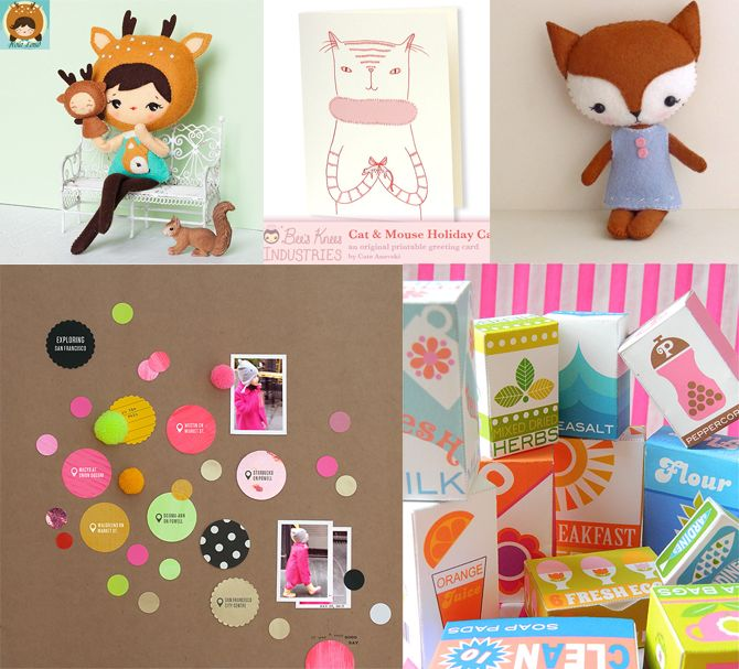 I just love this site - great projects! #craft #creative #printables #free