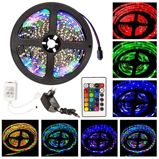 Tectake RGB - Led Strip - 5 Meter
