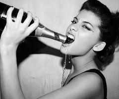 ✔ Drink from the bottle ~ Bachelorette Bucket List. #bachelorette_game #bachelorette_idea
